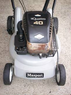 BRIGGS STRATTON 4 STROKE,SERVICED MASPORT LAWN MOWER! Runcorn Brisbane South West Preview