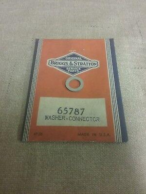 New Genuine Briggs & Stratton Washer 65787