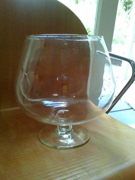 Brandy Glass Vase Brandy Glass/ Fish Bowl /bar