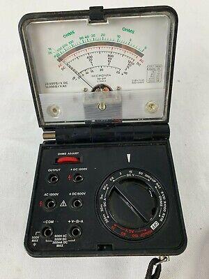 Vintage Micronta 22-211 Multitester 25-range Folding Multi Meter - Radio Shack