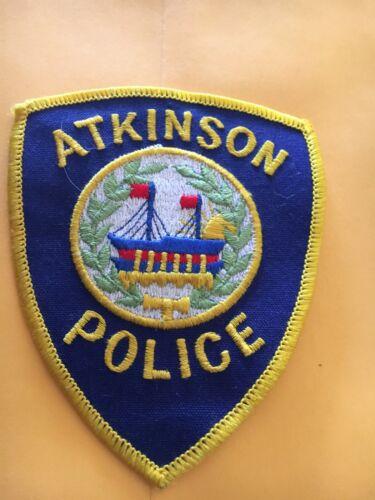 Atkinson New Hampshire Vintage Police Patch