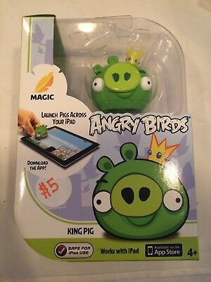 Angry Birds King Pig Magic Apptivity App game For iPad Use New Great Gift ()