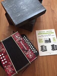 Button Accordion G/C Germany