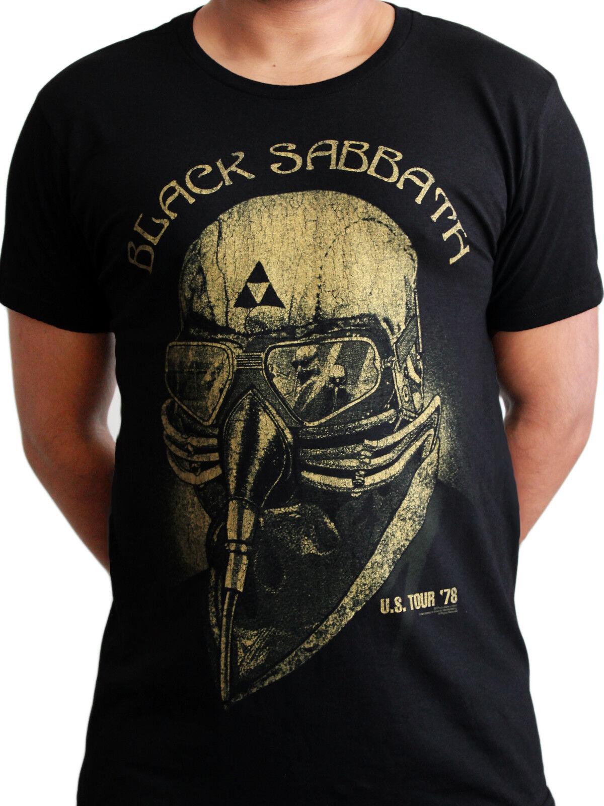 Black Sabbath US Tour 78 Never Say Die Ozzy Avengers Rock Official Mens T -shirt 14b18660efe69