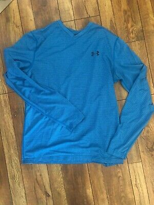 Under Armour, cold gear, fitted long sleeve athletic shirt. Size Large.