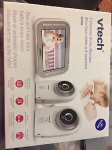 Vtech 2 camera baby monitor with large screen $209 retail