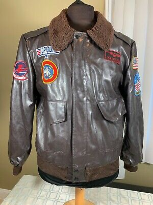 Top Gun Maverick Leg Avenue costume cosplay flight bomber jacket Men's Size (Top Gun Bomber Jacket Costume)