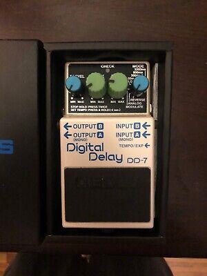 Boss DD-7 Digital Delay, Rarely Used- Original BOX