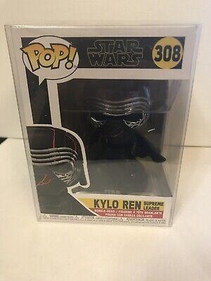 Funko Pop! Movies: Star Wars - Kylo Ren Vinyl Figure In Protective Case