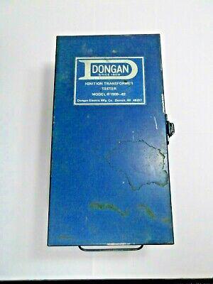 Dongan Transformer Ignition Tester Model 1909-82