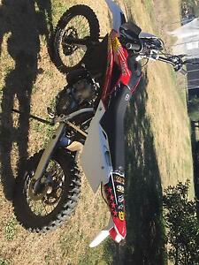 2008 Husqvarna WR250 Batlow Tumut Area Preview