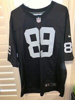 NFL Oakland Raiders T Shirt Mens S M L XL Longline Ringer Official Team Apparel