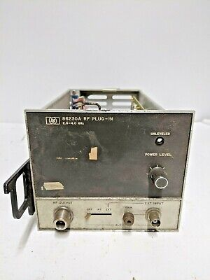 Hp 86230a Rf Section Plug For Signal Generator 2-4 Ghz