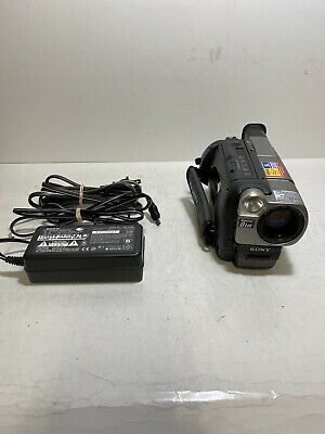 SONY Handycam Vision CCD-TRV37 8mm Hi-8 Video Camcorder 200x Digital Zoom Camera