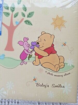 Winnie The Pooh Baby's Book Stepping Stones Photo Journal Pooh Disney