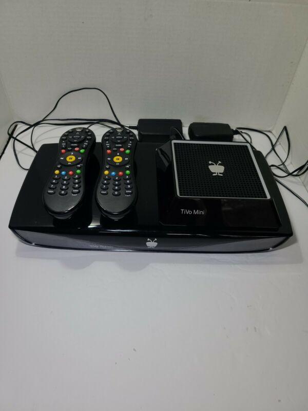 TiVo Roamio Series 5 - TCD846500 HD DVR with Lifetime Service & TiVo Mini lot 2