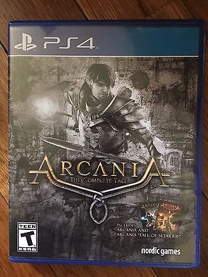 Arcania: The Complete Tale (Sony PlayStation 4, 2015) USED