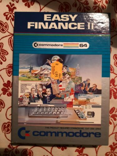 Easy Finance II F r Commodore 64 C64 Ovp  - 2,53 €