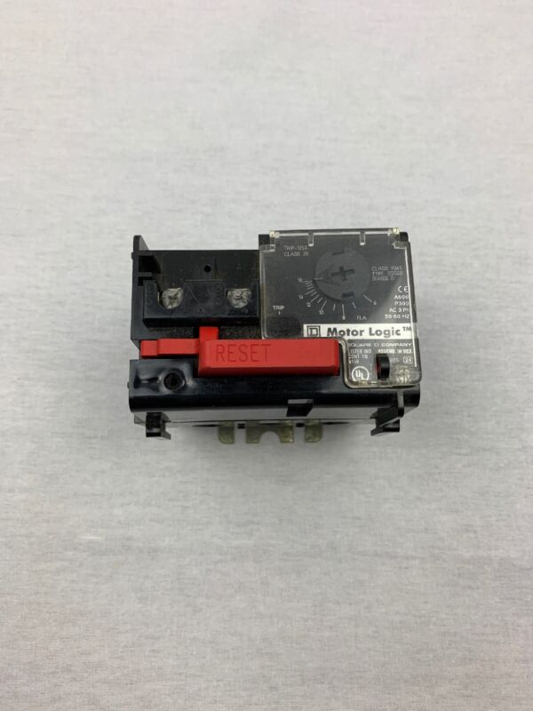 Square D Motor Logic 9065SS020 Solid State Overload Relay A600. P300
