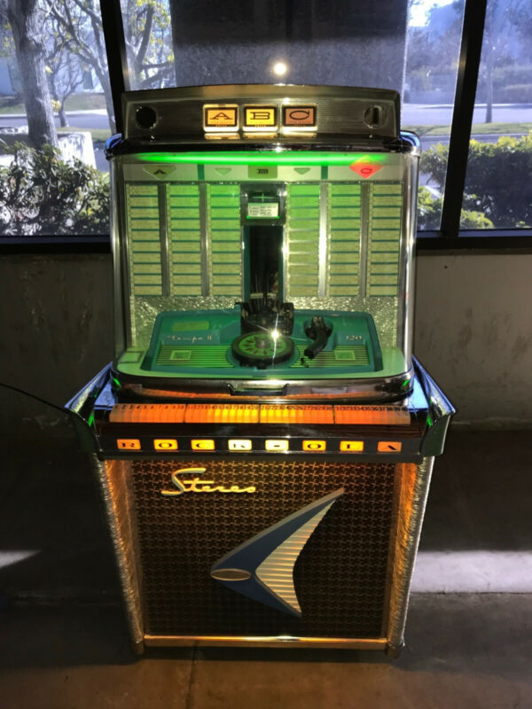 1960 ROCK-OLA MODEL 1478 TEMPO 2 FROM THE ROCK-OLA MUSEUM EXE CONDITION REDUCED