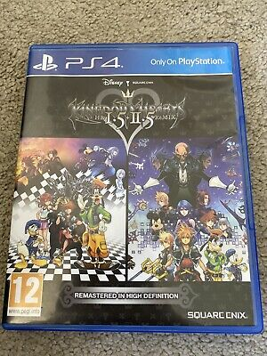 Kingdom Hearts Hd 1.5 And 2.5 Remix Sony Playstation 4 Fast Free Uk Postage