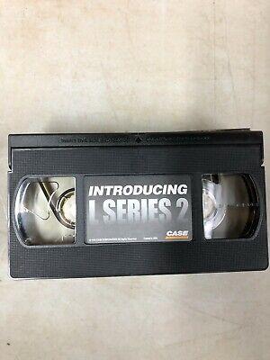 Case L Series Backhoe Vhs Tape