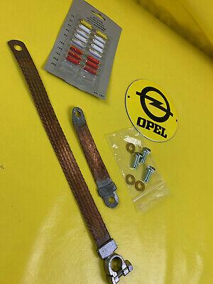 Nuevo Opel Kadett B Rekord C Commodore A Eléctrico Fusible Cable Batería