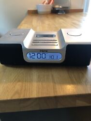 iHome Ih56 Alarm Clock Radio Apple iPod Home System