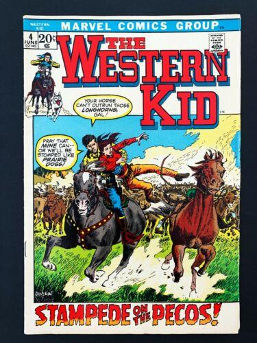 WESTERN KID #4 MARVEL COMICS 1972 VF