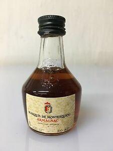 Mignon-Miniature-Marquis-De-Montesquiou-Armagnac-X-O-3cl-40-Vol