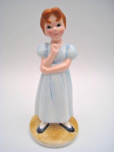 DISNEY CHINA Vintage Wendy From Peter Pan Porcelain Figurine