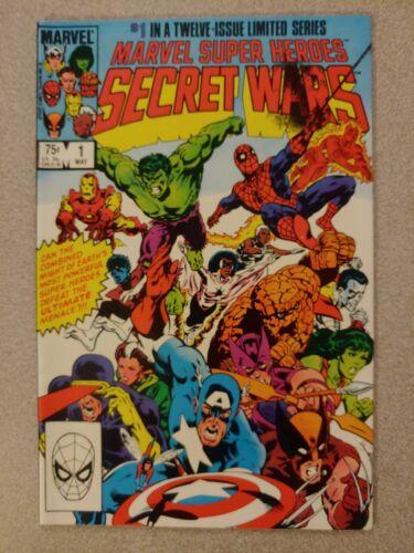 Secret Wars #1 Marvel 1984