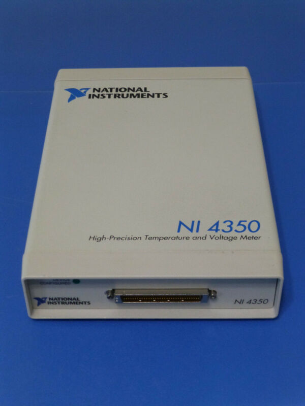 National Instruments NI-4350 USB Temperature / Voltage Meter / USB-4350