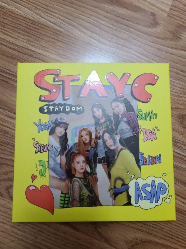 STAYC - STAYDOM ASAP Album No Photocards Kpop