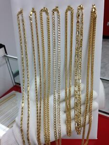 10k yellow gold chains