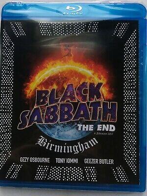 Black Sabbath The End (Live in Birmingham) (NEW Blu-ray disc)
