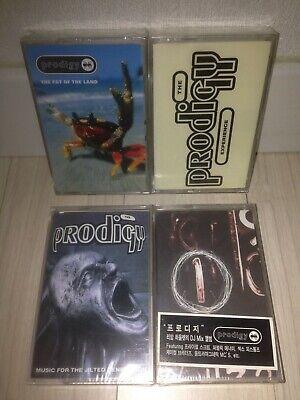 The Prodigy - Korea 4 Cassette Tape New Sealed Bundle