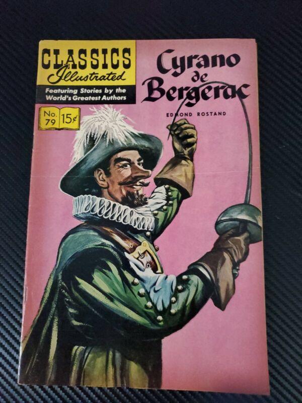 CLASSICS ILLUSTRATED CYRANO DE BERGERAC #79 HRN GILBERTON ROSTAND