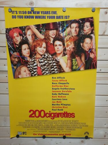 200 CIGARETTES 1999 ORIGINAL MOVIE POSTER - ROLLED SS  - $13.99