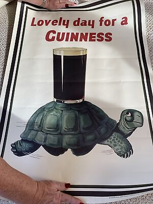 Guinness Poster, Turtle, Lovely Day for a Guinness