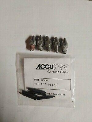Accuspray 1.3 .51 Tips And Nozzles 91-107-0515