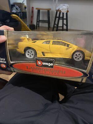 Burago Diamonds 1990 Lamborghini Diablo 1:18 Scale Diecast Car