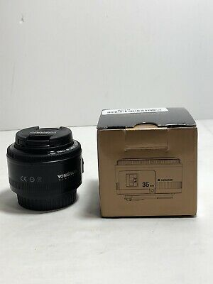 YONGNUO YN35MM F/2 Wide-angle Fixed Auto Focus & MF lens For Canon EF EOS Camera