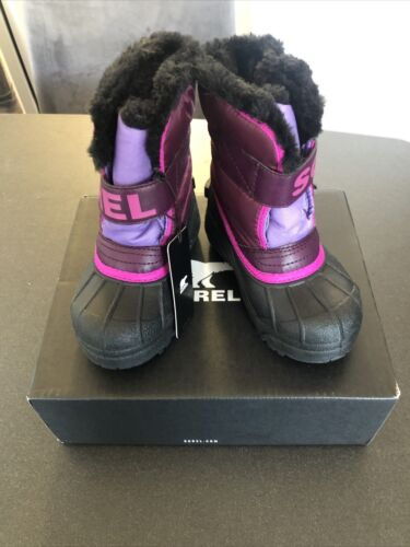 snow commander toddler little girls purple dahlia