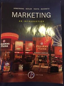 Marketing: an introduction Canadian 6th edition