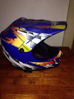 Motorbike helmet medium kids Owen Wakefield Area Preview