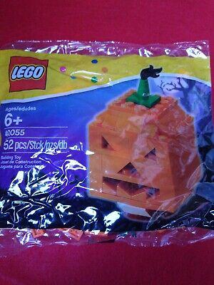 Lego Halloween jack o lantern pumpkin set 40055 52 PC's 2013 release
