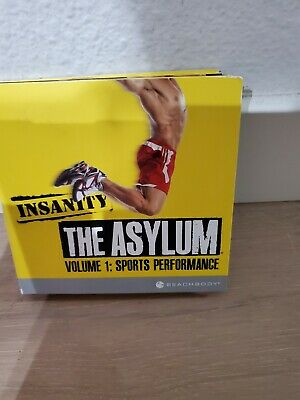 Beachbody Insanity The Asylum Volume 1 Sports Performance 6 DVD Set Very good
