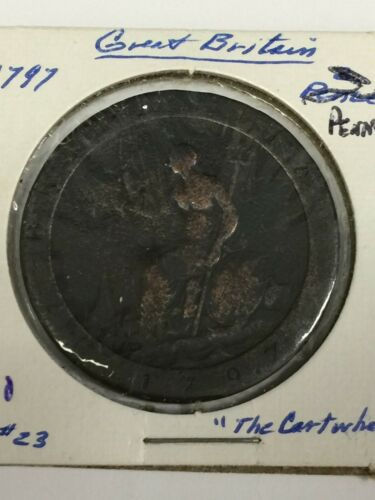 1797 GREAT BRITAIN 1 PENNY COIN