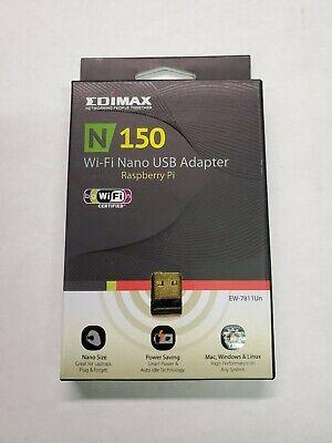 Edimax EW-7811Un Wireless N 150 WI-FI Nano USB Adapter, Windows Mac Raspberry Pi comprar usado  Enviando para Brazil